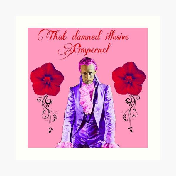 Leslie Howard as the Scarlet Pimpernel Art Print