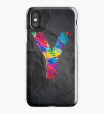 Fun Letter - Y iPhone Case/Skin