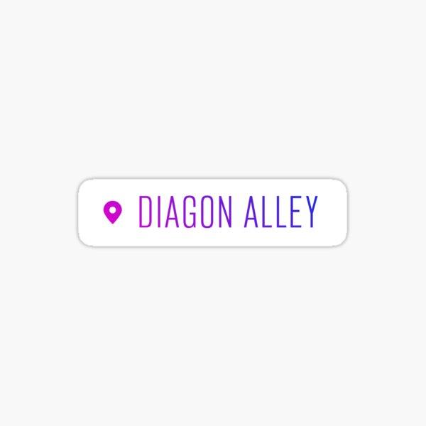 Diagon Alley - Geotag Glossy Sticker