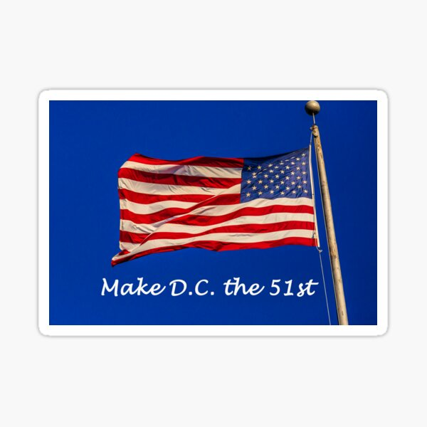 Make D.C. the 51st Sticker