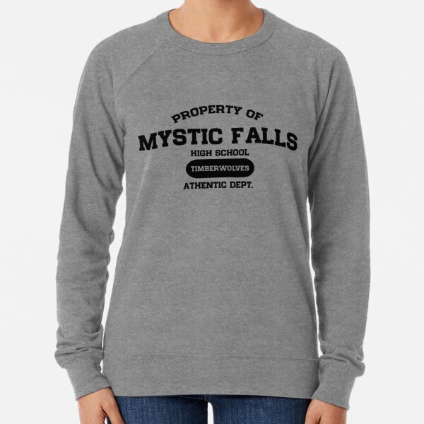 Property of Mystic Falls High School Lightweight Sweatshirt