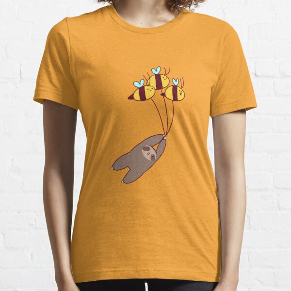 Sloth and Bumble Bees Essential T-Shirt