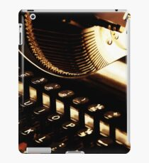 The Vintage Typewriter iPad Case/Skin