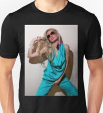 Sexy blond girl in fashion shoot T-Shirt