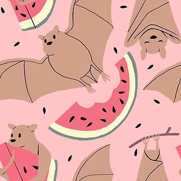 Fruit Bat by hazelthexton