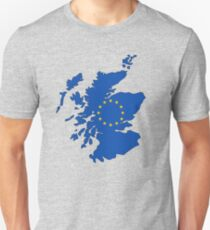 Scotland Map EU Unisex T-Shirt