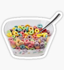 cereal Sticker
