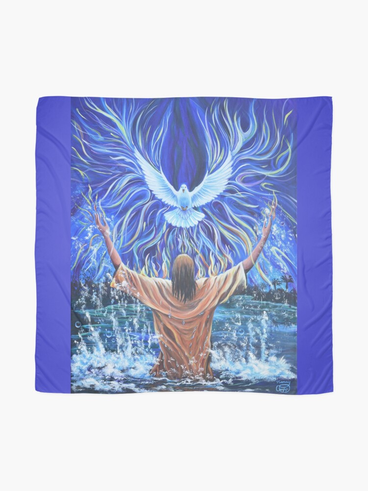 Alternate view of Holy Fire Baptism Scarf