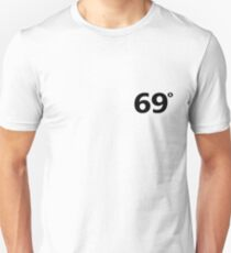 69 Degrees Black (11 Degrees) Unisex T-Shirt