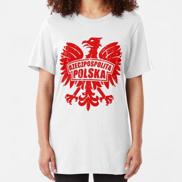Nyc Factory Poland Polska Eagle Tee Kids Tee poland-polska-eagle-kids-tee-red-x