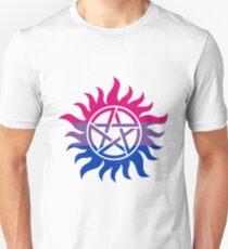 Supernatural Anti-Possession Bisexual Flag T-Shirt