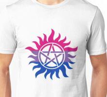 Supernatural Anti-Possession Bisexual Flag Unisex T-Shirt