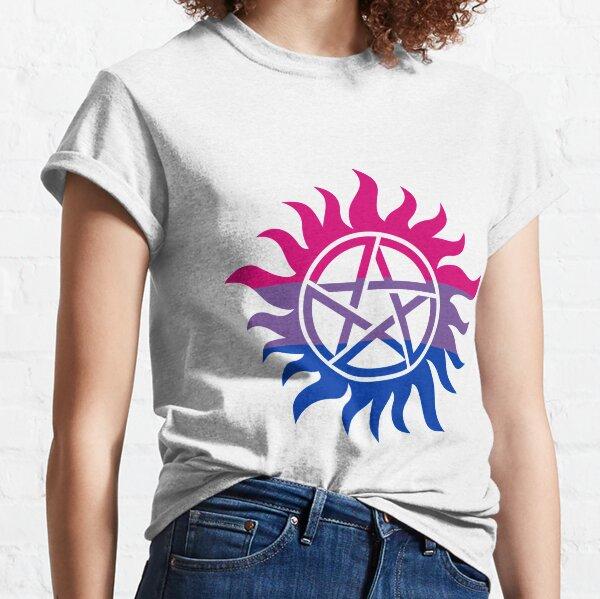 Supernatural Anti-Possession Bisexual Flag Classic T-Shirt