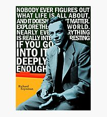 Richard Feynman Photographic Print