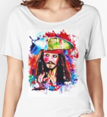 """Captain Jack Sparrow"" Women's Relaxed Fit T-Shirt"