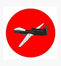 Black Drone Photographic Print