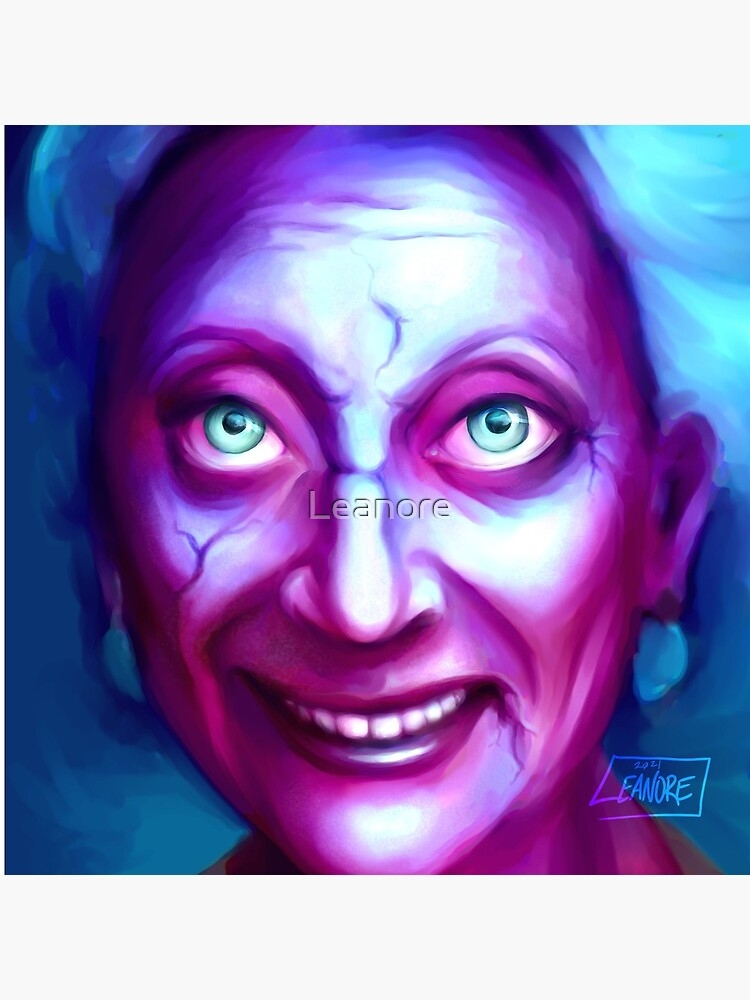 Friendly Ghost Gramma by Leanore