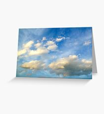 Nothing but Sky Greeting Card
