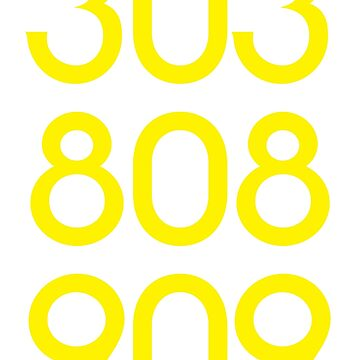 808 303 909 acid house by RudieSeventyOne