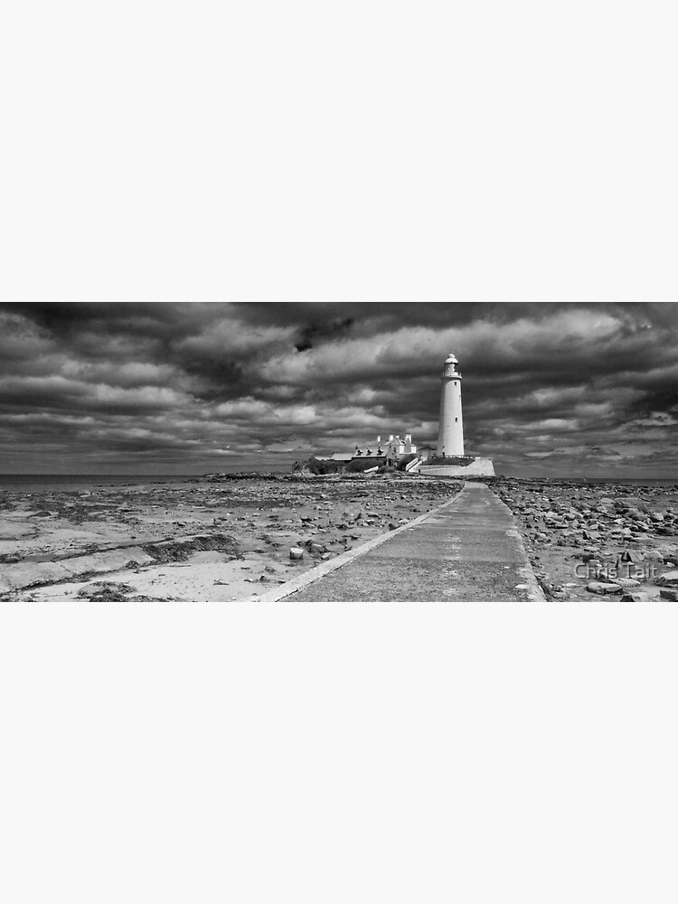 St Mary's Lighthouse Landscape by christait