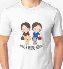 2016 Exclusive Bowl-4-Animal Rescue Design T-Shirt