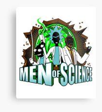 Men of Science Metal Print