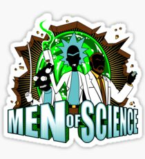 Men of Science Sticker
