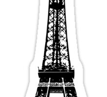 Quot Eiffel Tower Quot Stickers By Pencreations Redbubble