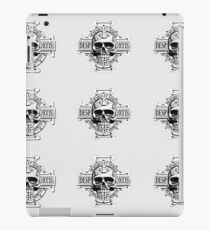 Warhammer 40k Chaos Marines Skull no. 4 iPad Case/Skin
