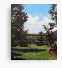 Hillier Gardens Grass and Trees Canvas Print