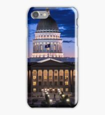 Utah Capitol Sunset - Salt Lake City iPhone Case/Skin