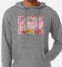 BRONTE QUOTE She burned too bright for this world  Lightweight Hoodie