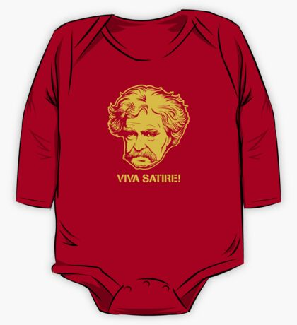 Viva Satire Mark Twain Shirt Kids Clothes