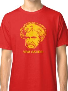 Viva Satire Mark Twain Shirt Classic T-Shirt
