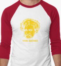 Viva Satire Mark Twain Shirt Men's Baseball ¾ T-Shirt