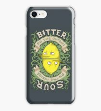 Bitter on the Outside, Sour on the Inside iPhone Case/Skin