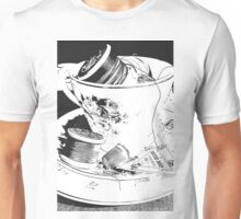 Tea, Cake and sewing Unisex T-Shirt