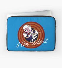 I Am Wildcat 1930's Cartoon Character Laptop Sleeve