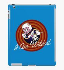 I Am Wildcat 1930's Cartoon Character iPad Case/Skin