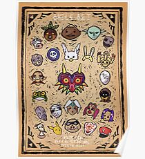 Majora's Masks Poster