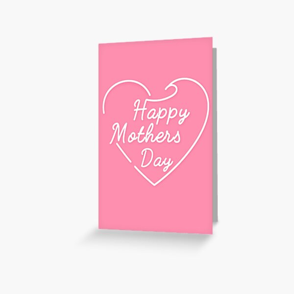 Lovey Mothers Day Happy Mother's day Greeting Card