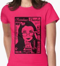 spn Charlie Bradbury  Womens Fitted T-Shirt