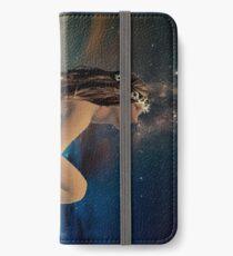 "Modern Maxfield Parrish ""Stars"" iPhone Wallet"