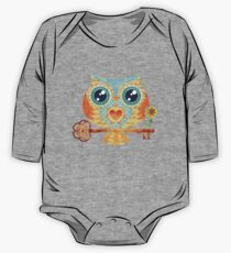 Owl's Summer Love Letters One Piece - Long Sleeve