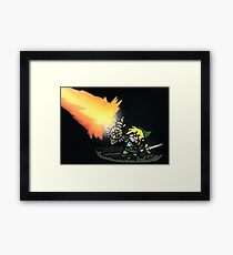 Sword Master Framed Print
