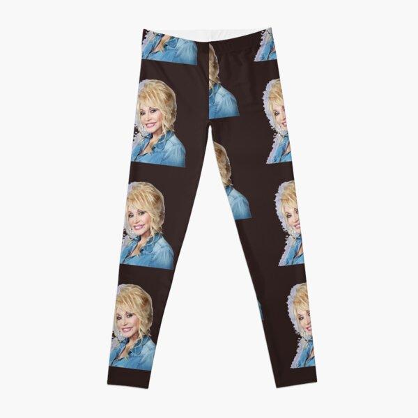 Nice Portrait of Dolly in Jeans Leggings