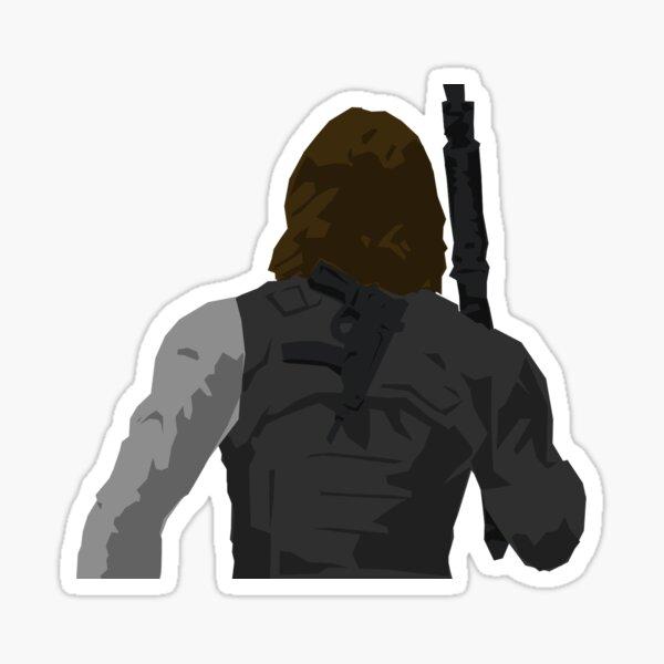Winter Soldier - Back Sticker