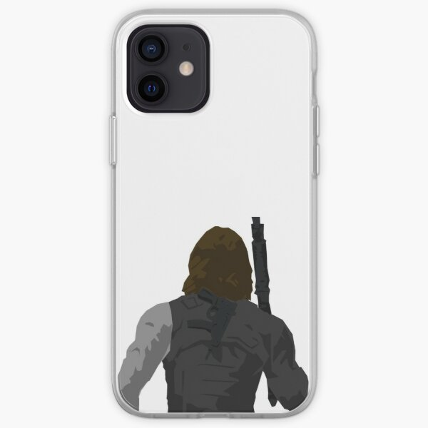 Winter Soldier - Back iPhone Soft Case