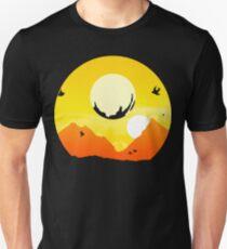 Camiseta ajustada Viajero exótico