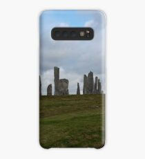 Standing Stone Circle in Isle of Lewis Scotland Case/Skin for Samsung Galaxy